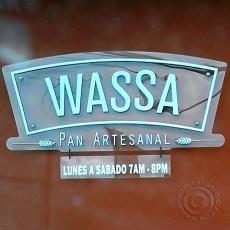 WASSA front sign