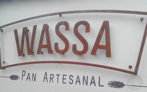 WASSA metal sign