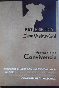 Juan Valdez Bazaar pet friendly