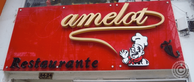 Camelot Sign