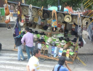 Moveable hat seller