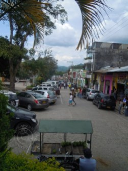 Street in downtown La Vega
