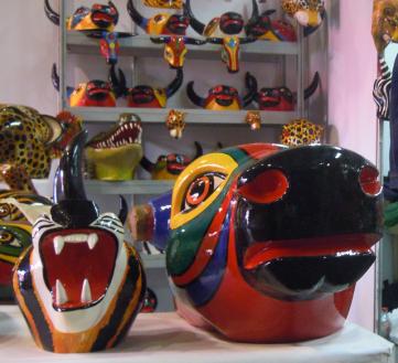 Colorful Animal heads