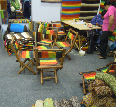 Very colorful furniture. I thought about buying.