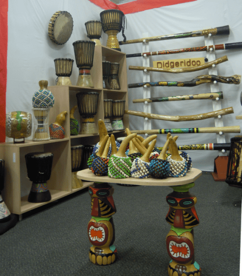 Many musical instruments are used in Colombia