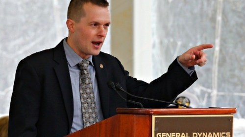Democrat Jared Golden: Stimulus Bill Should Have Involved Both Parties