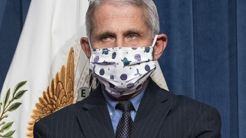 Fauci: Those Vaccinated Must Continue to Wear Masks to Protect Others