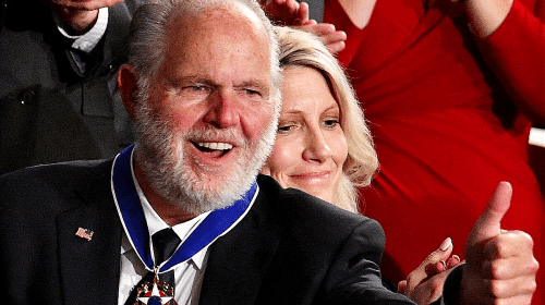 Long Live Rush Limbaugh: His Mettle Personifies The Medal Of Freedom