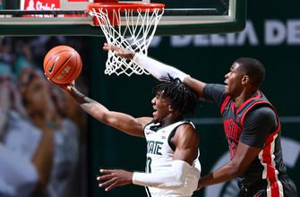 No.4 Ohio State falls to Michigan State in 71-67 thriller
