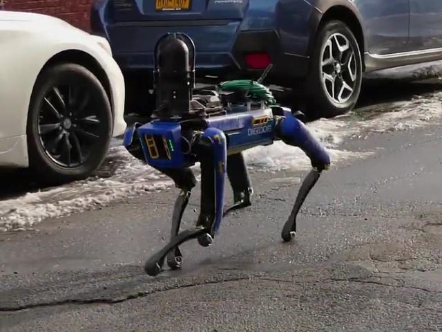 Ocasio-Cortez Criticizes NYPD Use of Robotic Dog Drones