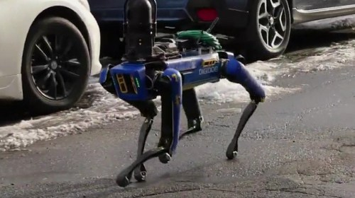 Ocasio-Cortez Criticizes NYPD Use of Robotic Dog Drones