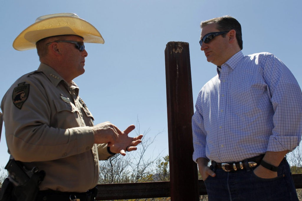 AZ Sheriff: We're Getting 'Five or Six Groups a Day' Crossing in Spot Where Fence Isn't Complete