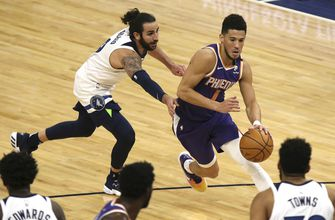 Booker scores 43 in Timberwolves 118-99 loss Phoenix