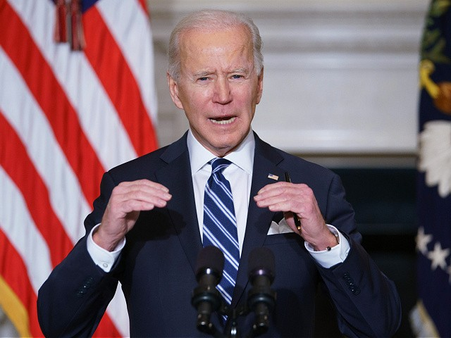 Joe Biden Blames Capitol 'Insurrection' for Executive Order Expanding Federal Registration