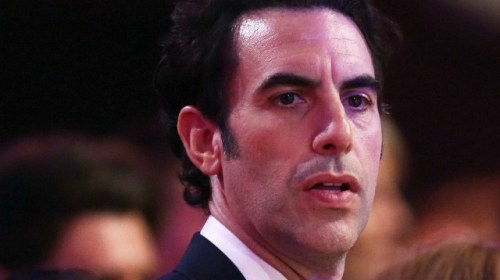 Sacha Baron Cohen Mocks Donald Trump, Rudy Giuliani at Golden Globes