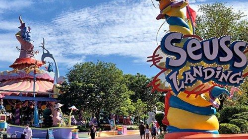 Universal Orlando 'Evaluating' Dr. Seuss Area of Theme Park in Wake of Racism Claims