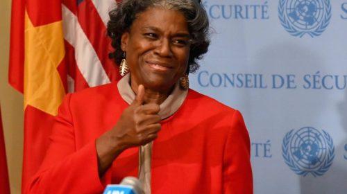 WATCH: U.N. Ambassador Linda Thomas-Greenfield Tells Al Sharpton Group: 'White Supremacy' in America's 'Founding Documents and Principles'