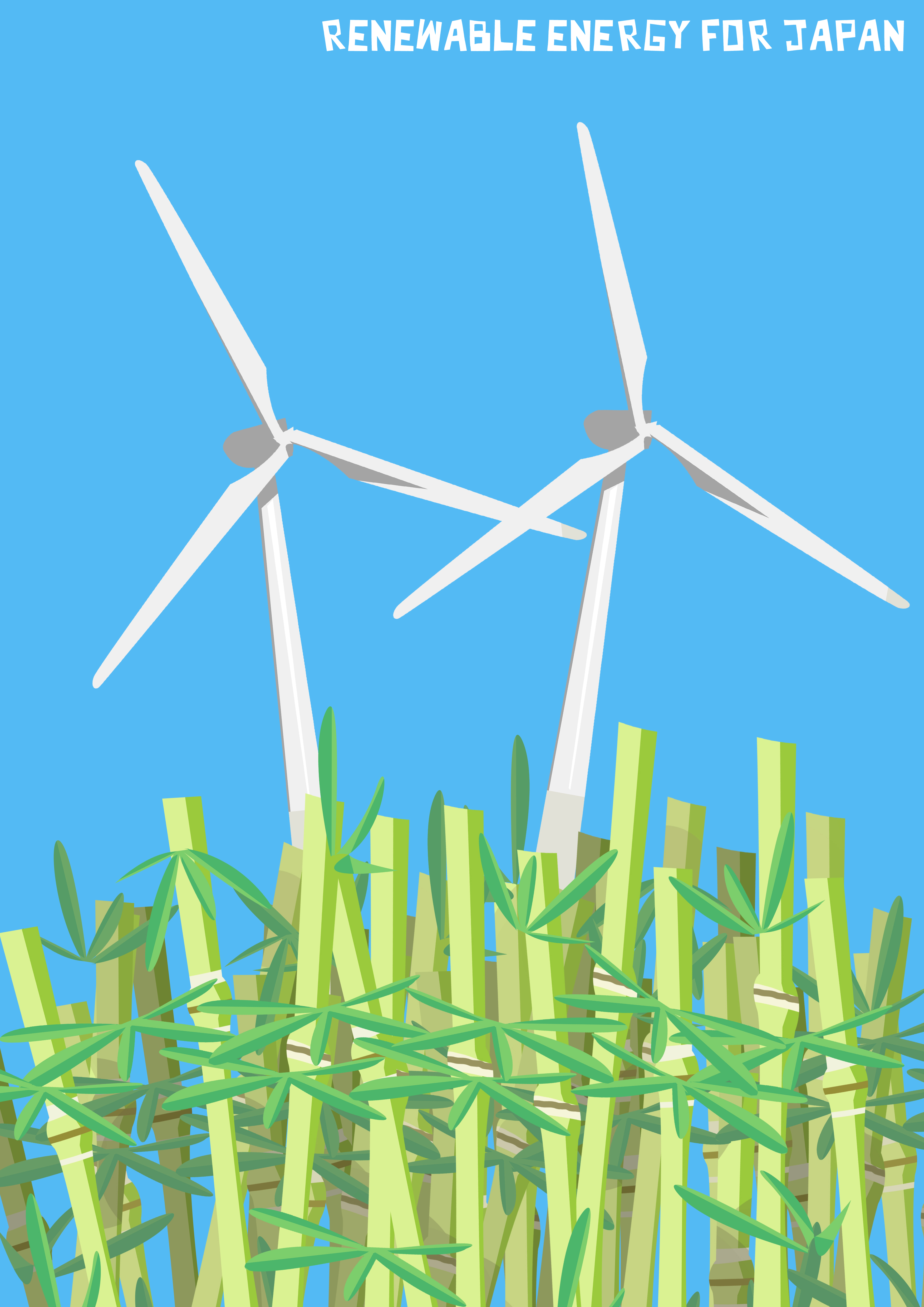 Posters  Renewable Energy for Japan First Draft  Michael Arbuthnot