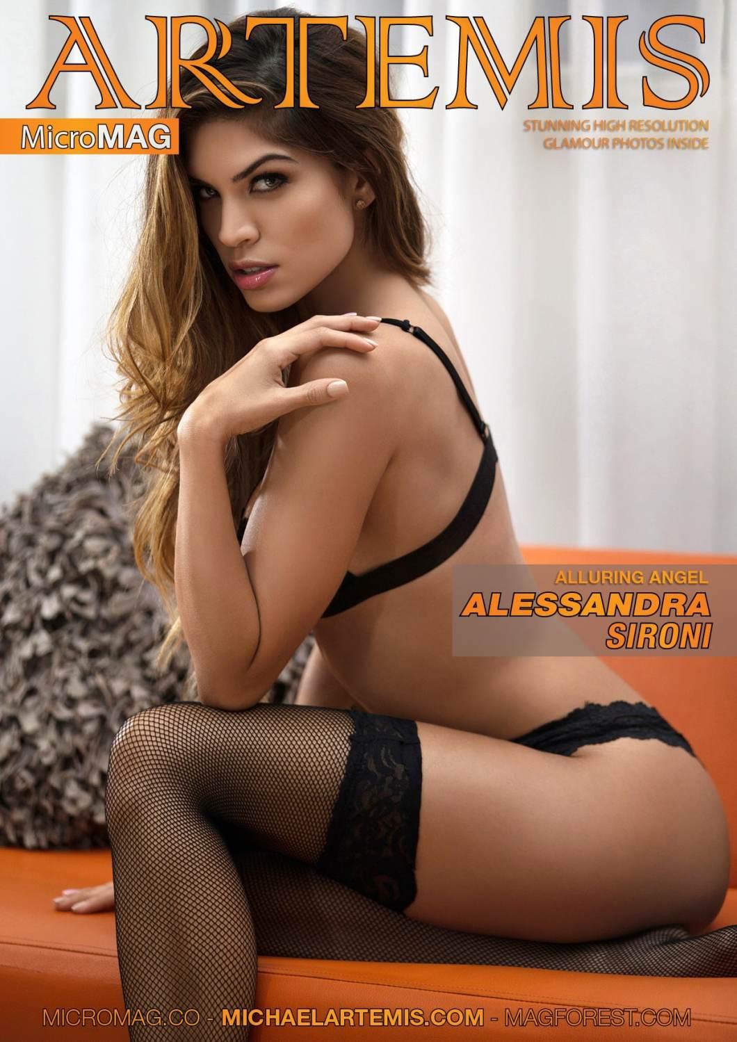 Stunning MicroMAG featuring Alessandra Sironi