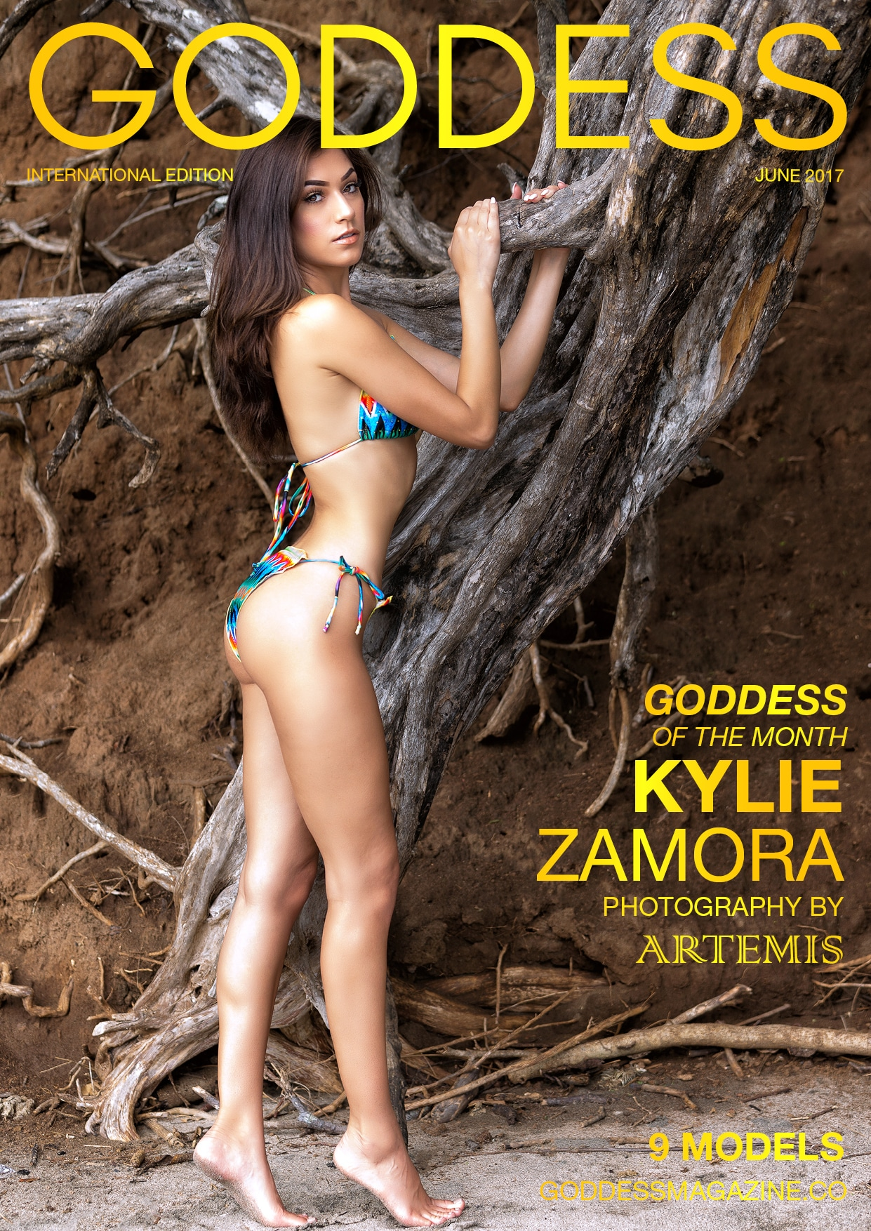 ***New Goddess Cover - Featuring Kylie Zamora