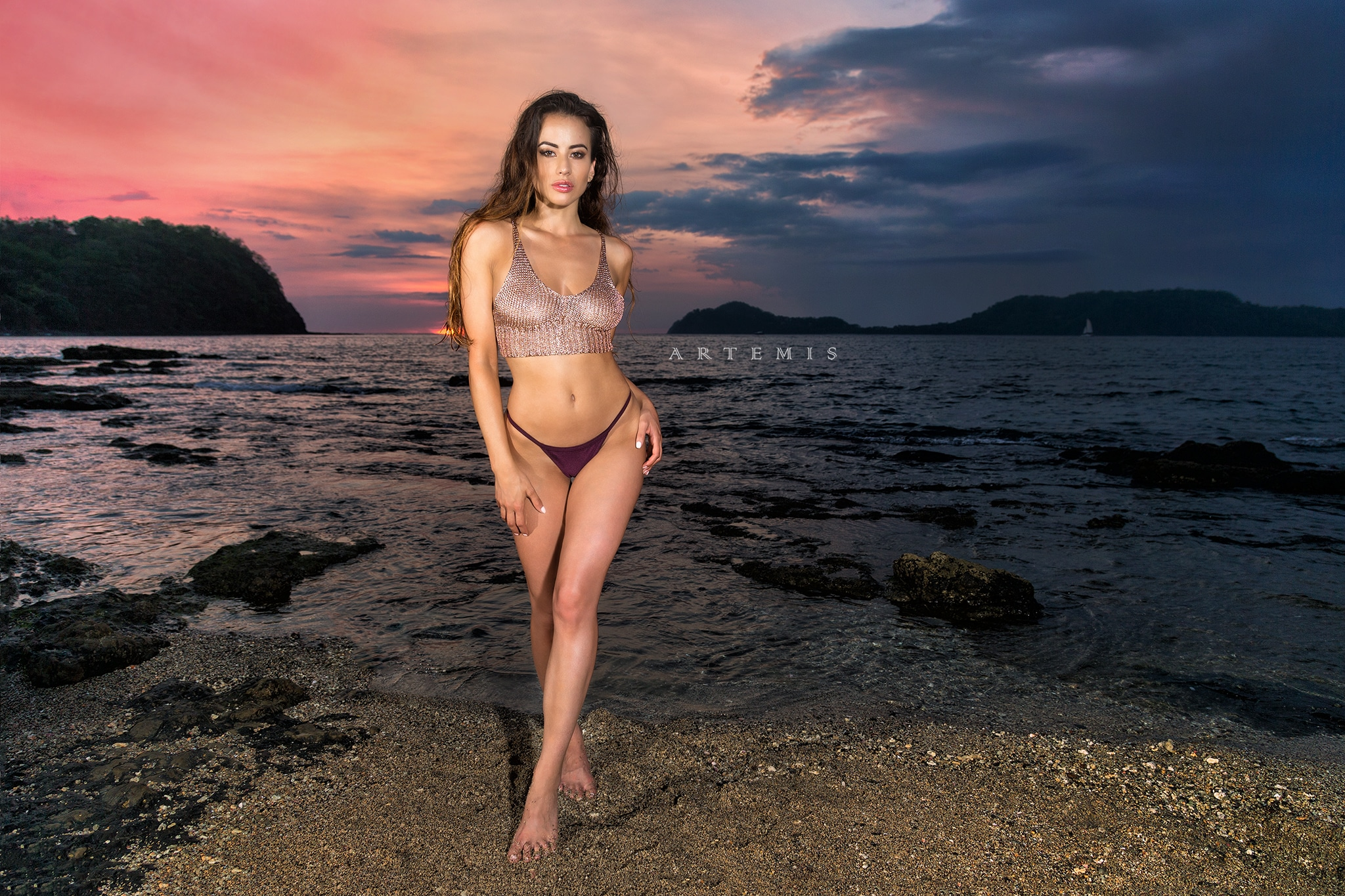 Costa Rica Sunset with Vanessa