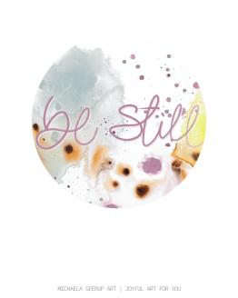Be still color circle
