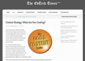 Content Strategy: What Are You Creating?