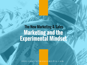 The New Marketing and Sales: A fresh look at how to attract customers and earn their business.
