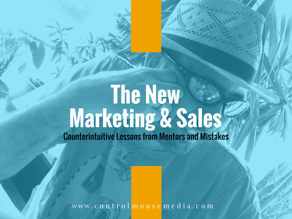 This series is about how to take advantage of the fact that marketing has changed for the better.