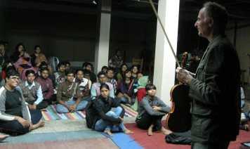 Kala Bhavan Shantiketan concert Feb 28 2014