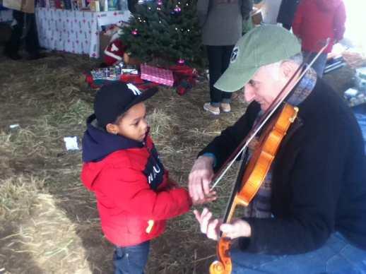 Michael and boy 1 Rockaways Dec 24 2012