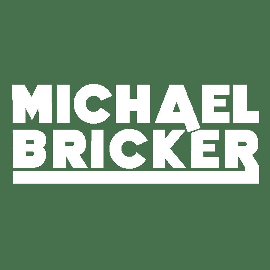 Michael Bricker white logo