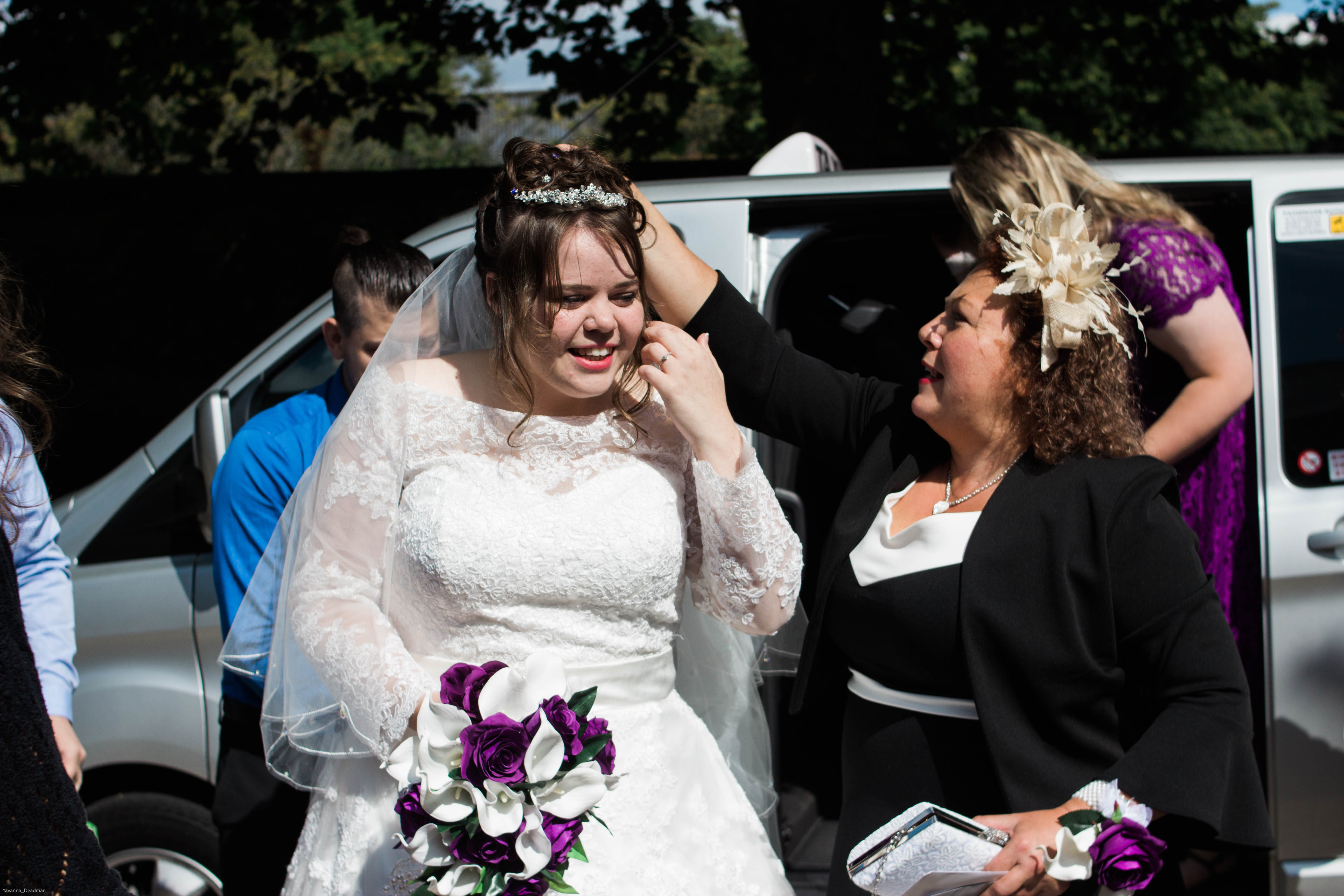 Looking back at mine and my wife's wedding
