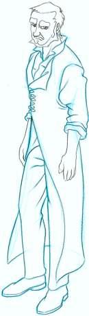 Costume Matrix Coat