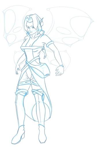 Kameo_Costume_Wings