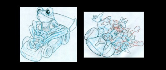 Characters-in-cars