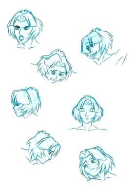 Satin-Heads-Poses