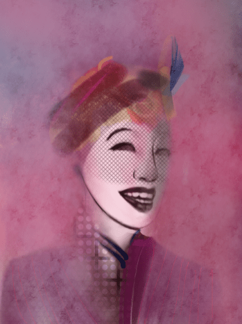 Fiona, digital painting by Mike Chambers