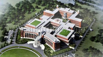 Proposed New State House. Picture from Lusaka Times