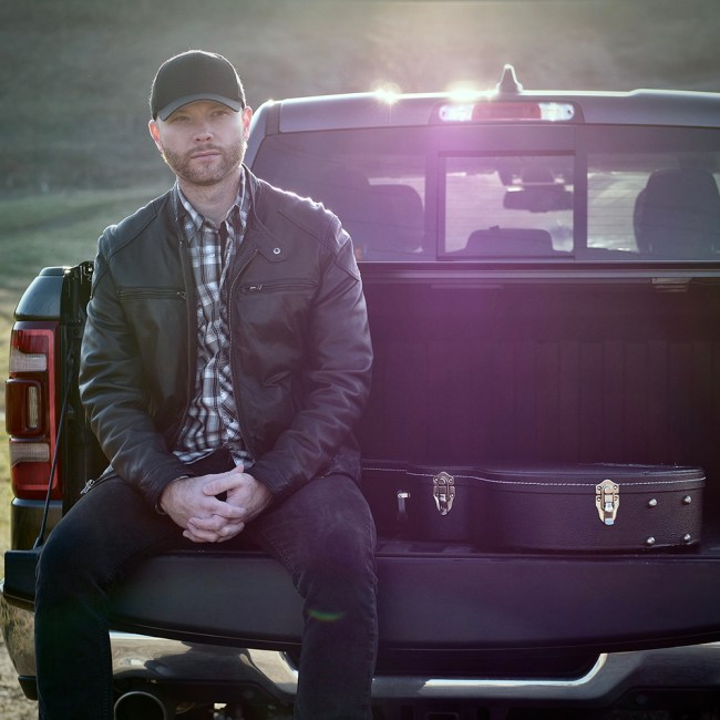 Michael Christopher on Tailgate with Guitar
