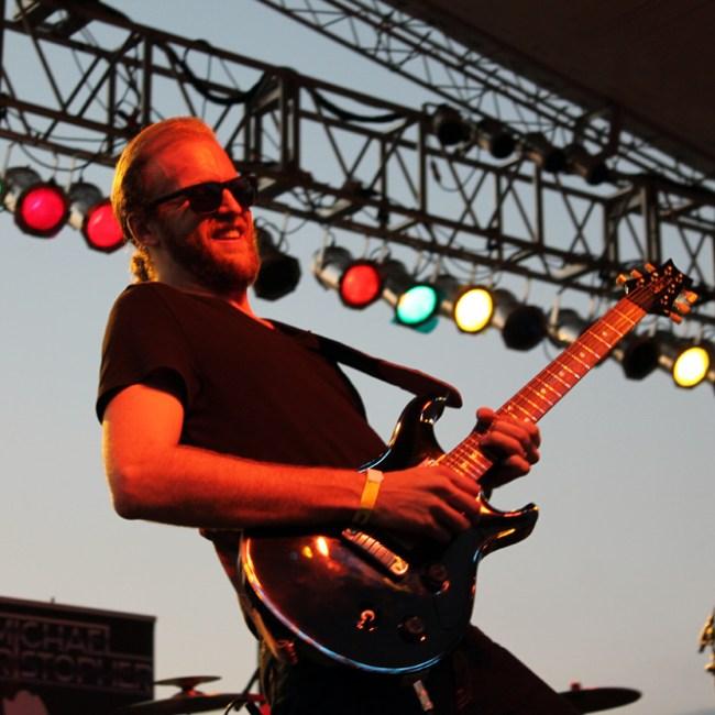 Zach Reeder - lead guitar/backing vocals