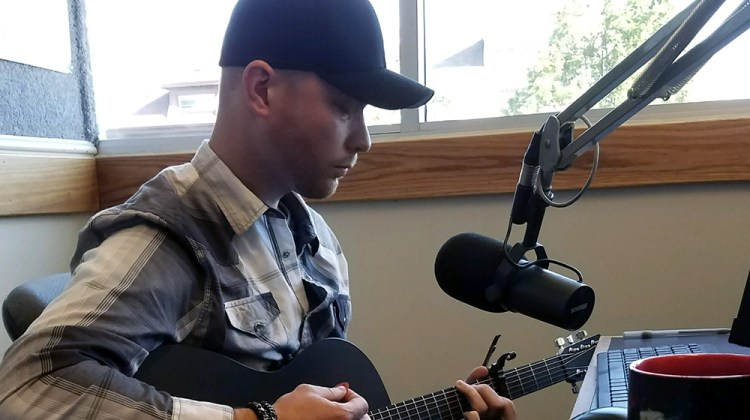 Michael Christopher - in studio. radio tour