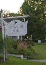 Chamberlain Park Sign