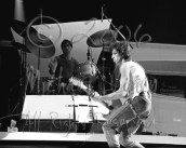 This frame is more for the fact that Charlie Watts is visible, which wasn't easy at either show