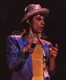 Mick Jagger in straw hat dumbfounded CLOSEUP [The Rolling Stones