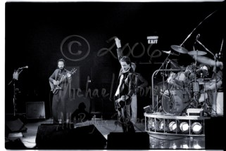 """One of few times during this performance, that Townshend would """"windmill"""". John Entwhistle simply went about his business playing those monster bass lines on the other side of the stage"""