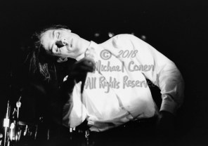 """Peter Murphy The I Beam San Francisco, California 3-3-87 These photos were taken on print film, and then digitally scanned at 2000 dpi. All images viewed here are """"proofs"""" of the negatives. Serious inquiries regarding further publication will be entertained. Please contact me with comments, questions, etc. at michaelconen@myway.com Peter Murphy; I Beam; San Francisco; California; 3-3-87; Any further use requires permission from the photographer; Michael Conen."""