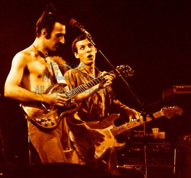 """Frank Zappa Louisville Gardens Louisville, Kentucky 11-10-77 These photos were taken on print film, and then digitally scanned at 2000 dpi. All images viewed here are """"proofs"""" of the negatives. Serious inquiries regarding further publication will be entertained. Please contact me with comments, questions, etc. at michaelconen@myway.com Frank Zappa; Louisville Gardens; Louisville; Kentucky; 11-10-77; Any further use requires permission from the photographer; Michael Conen"""