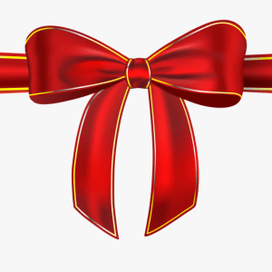 Picture of a Red Bow
