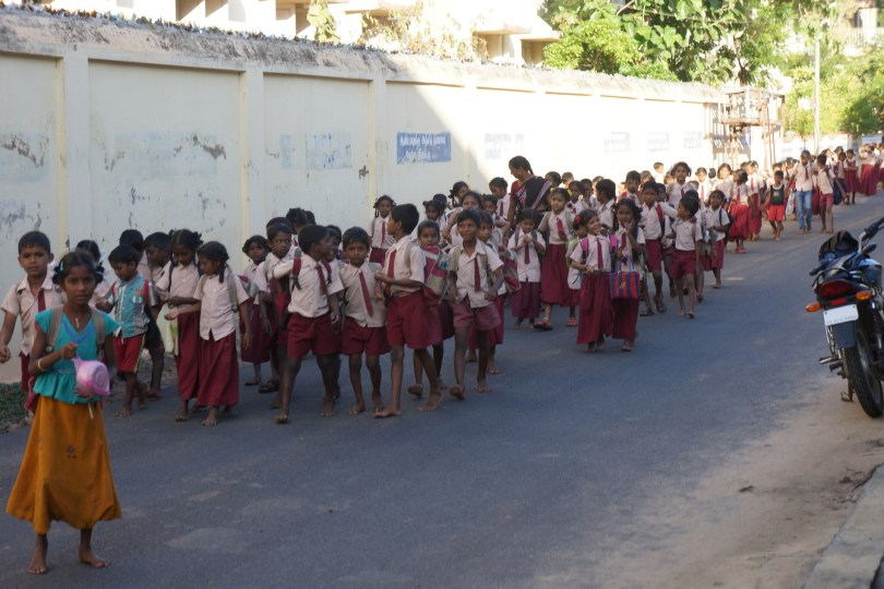 Tharangambadi School Kids